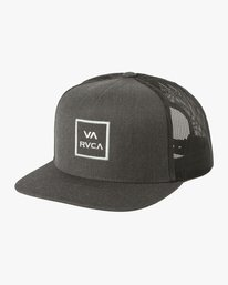 0 VA ALL THE WAY TRUCKER III HAT Grey MAAHWVWY RVCA