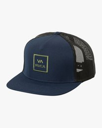 0 VA All The Way Trucker Hat III Blue MAAHWVWY RVCA