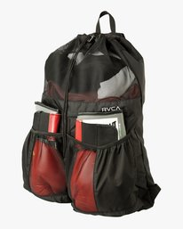 0 Drawcord Backpack Black MABKNRRD RVCA