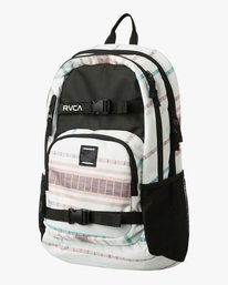 0 Estate Delux Print Backpack White MABKPRDP RVCA