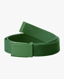 0 OPTION WEB BELT Green MABL1ROW RVCA