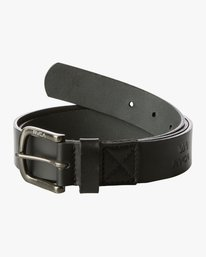 0 TRUCE LEATHER II BELT Black MABL1RTL RVCA