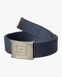 0 Falcon Web Belt Blue MABLQRFW RVCA