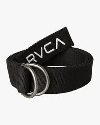 0 RVCA WEB BELT Black MABLVRWB RVCA