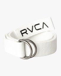 0 RVCA WEB BELT White MABLVRWB RVCA