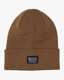 0 CHAIN MAIL BEANIE Brown MABN3RCM RVCA