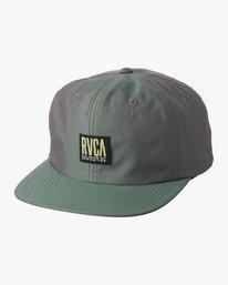 0 HAZED STRAPBACK HAT Grey MAHW1RHC RVCA