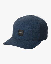 0 SHIFT FLEXFIT HAT Blue MAHW1RSH RVCA