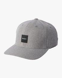 0 SHIFT FLEXFIT HAT Grey MAHW1RSH RVCA