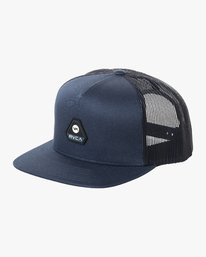 0 SHIFT TRUCKER Blue MAHW2RSH RVCA