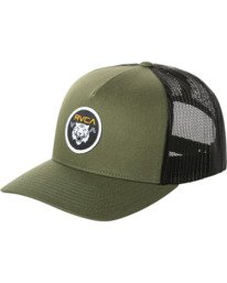 0 SABER CURVED TRUCKER  MAHW2RST RVCA