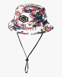 0 TROPICAL DMOTE BUCKET White MAHW2RTD RVCA