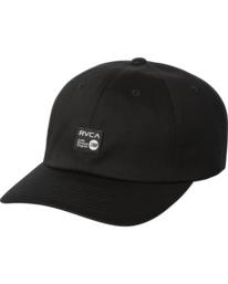 0 ANP CLASPBACK HAT Black MAHW3RAC RVCA