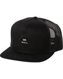 0 ANP CLASPBACK HAT Black MAHW3RAT RVCA