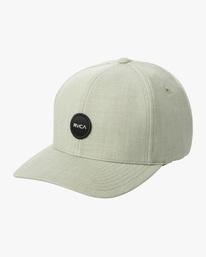 0 SHANE FLEXFIT HAT Multicolor MAHW3RSF RVCA