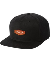 0 STANLEY SNAPBACK HAT Black MAHW3RSS RVCA