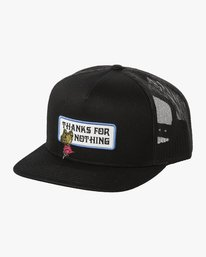 0 THANKS TRUCKER Black MAHW3RTT RVCA
