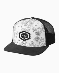 0 HAWAII HEX PATCH TRUCKER HAT  MAHWQRHH RVCA