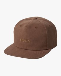0 TONALLY EMBROIDERED HAT Red MAHWQRTL RVCA