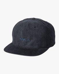 0 Tonally Embroidered Cap Blue MAHWQRTL RVCA