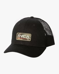 0 Ticket Trucker II Hat Black MAHWQRTT RVCA