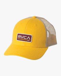 0 Ticket Trucker II Hat Silver MAHWQRTT RVCA
