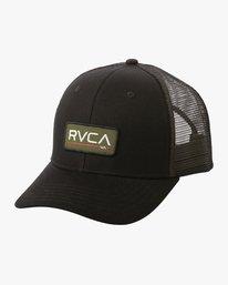 0 Ticket Trucker II Hat Black MAHWQRTT RVCA