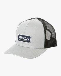 0 Ticket Trucker II Hat Grey MAHWQRTT RVCA