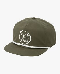 0 Graphic Pack Snapback Hat Green MAHWTRGP RVCA