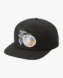 0 Sage Vaughn Snapback Hat Black MAHWTRSV RVCA