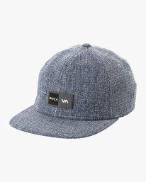 0 Balance Box Flex Fit Hat Blue MAHWURBB RVCA