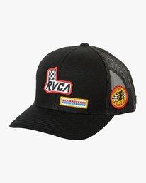 0 Freedom Trucker Hat Black MAHWURFT RVCA