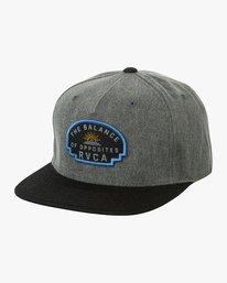 0 Olympic Snapback Hat Black MAHWUROL RVCA