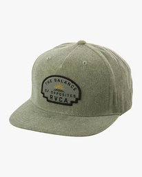 0 Olympic Snapback Hat Brown MAHWUROL RVCA