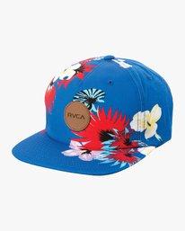 0 Romeo Snapback Hat Blue MAHWURRO RVCA