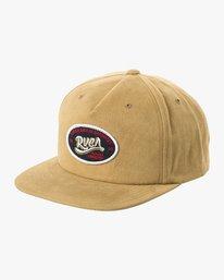 0 Station Snapback Hat Green MAHWURRS RVCA