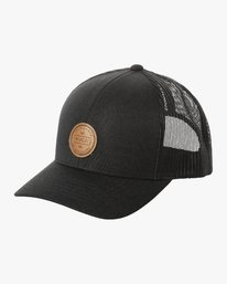 0 Volume Trucker Hat Black MAHWURVT RVCA