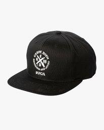 0 Carpe Diem Tokyo Snapback Hat Black MAHWVRCD RVCA