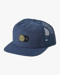 0 Duet Trucker Hat Blue MAHWVRDT RVCA