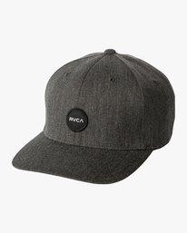0 Mini Motors Flex Fit Hat Brown MAHWVRMM RVCA