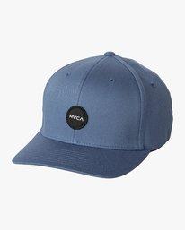 0 Mini Motors Flex Fit Hat Blue MAHWVRMM RVCA