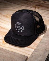 0 Induseal Trucker Hat  MAHWVROT RVCA