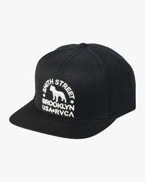 0 Smith Street Snapback Hat Black MAHWVRSM RVCA