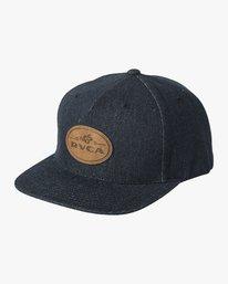 0 Serpent Snapback Hat Purple MAHWVRSS RVCA