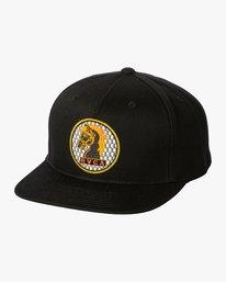 0 Ben Venom Snapback Hat Black MAHWWRBV RVCA