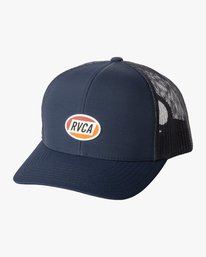 0 Cortex Trucker Hat Blue MAHWWRCT RVCA