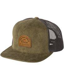 0 Monolith Trucker Hat Green MAHWWRMT RVCA