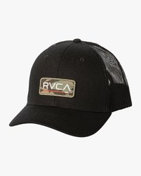 0 TICKET TRUCKER III HAT Black MAHWWRTT RVCA
