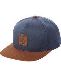 0 VA ALL THE WAY SNAPBACK HAT Blue MAHWWRVS RVCA