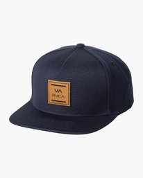 0 VA All The Way Snapback Hat Blue MAHWWRVS RVCA